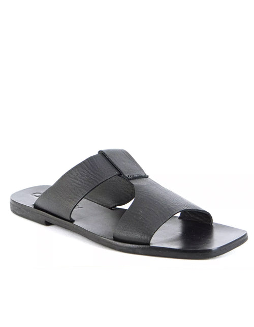 Caverley Jersey Slide in Black