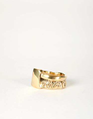 Jon Swinamer Axe Ring Bronze - Still Life - 3
