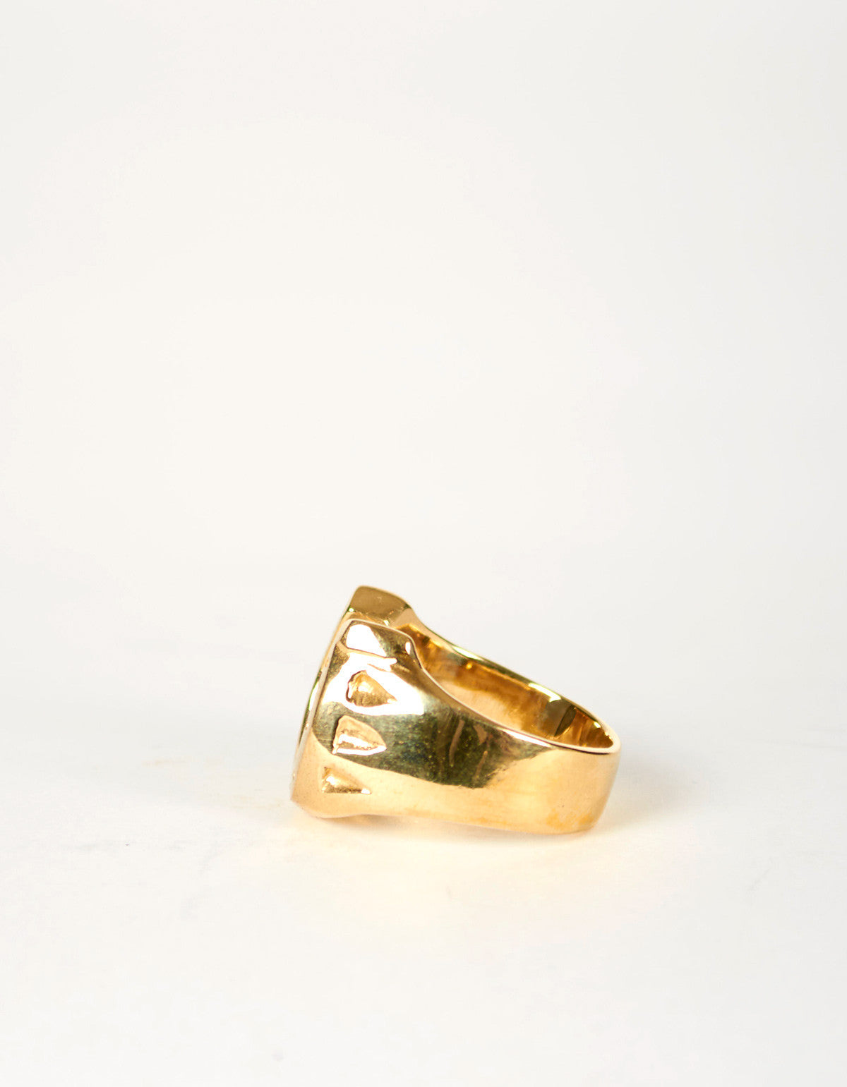 Jon Swinamer Horse Shoe Ring Bronze - Still Life - 2