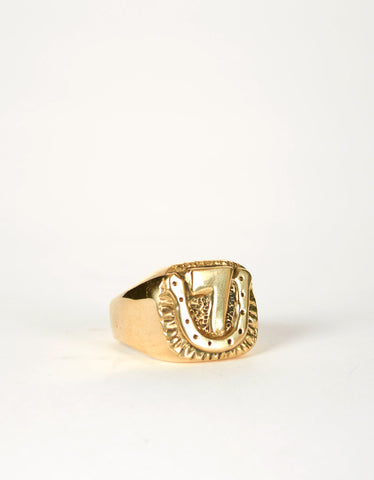 Jon Swinamer Lucky 7 Ring Bronze - Still Life - 1