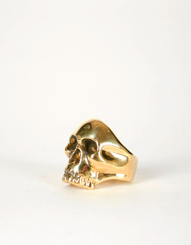 Jon Swinamer Skull Ring Bronze - Still Life - 1