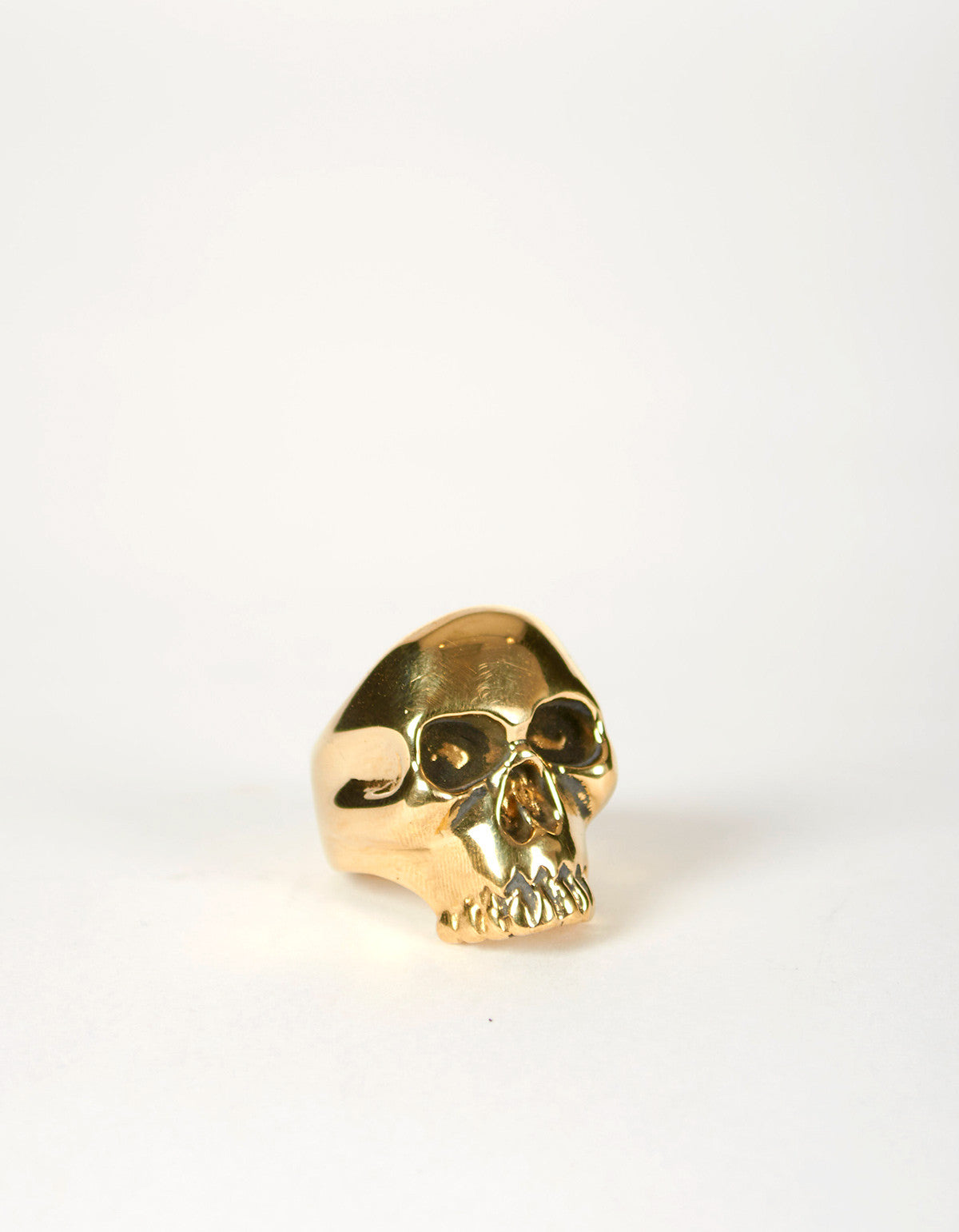 Jon Swinamer Skull Ring Bronze - Still Life - 4