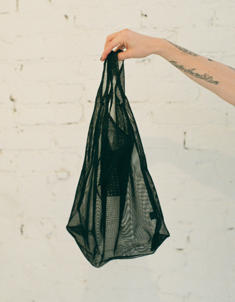 Junes Hombre Tote Mesh in Slate