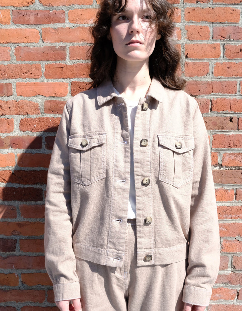 Just Female Cayenne Jacket in Cobblestone