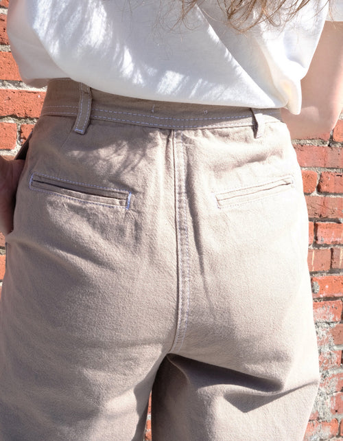 Just Female Cayenne Trousers in Cobblestone
