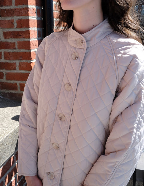 Just Female Hisar Jacket in Pumice Stone