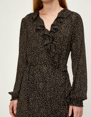 Just Female Imogene Maxi Wrap Dress, Imogene Mini Dot