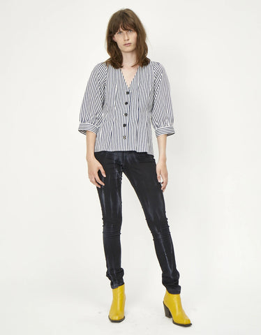 Just Female Sindra Blouse Sindra Stripe