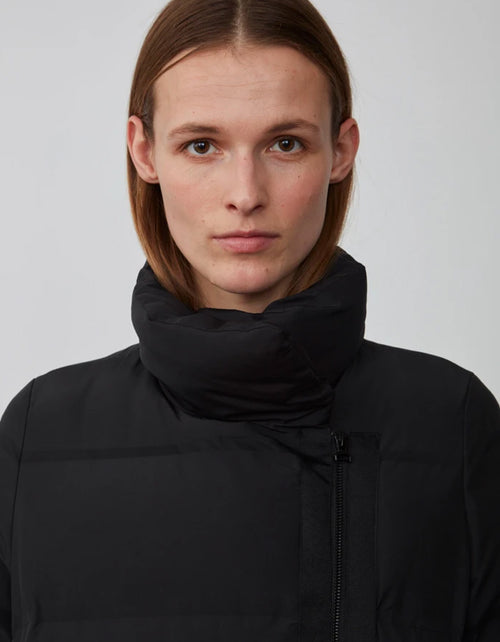 Just Female Whistler Down Coat in Black
