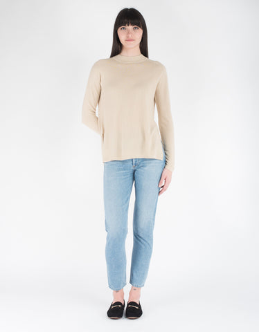 Just Female Frankling Knit Light Sand