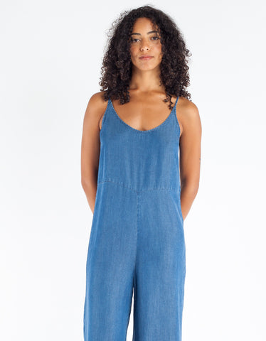 Just Female Lewis Jumpsuit Blue Denim
