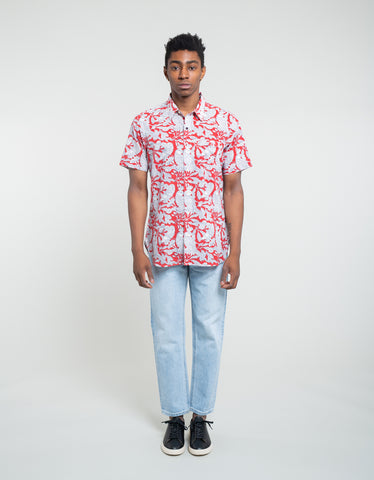 Kardo Frank Short Sleeve Shirt Red Parrot