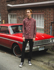 Kardo Earl Long Sleeve Shirt Red
