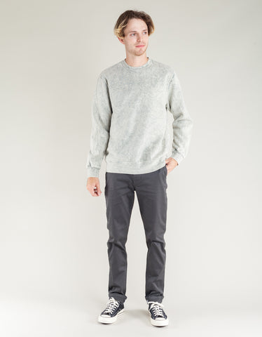 Katin Mineral Wash Crew Warm Grey