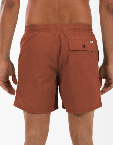 Katin Poolside Volley Trunk Sedona Red