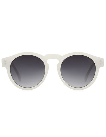 Komono Clement Sunglasses Milky White - Still Life - 1