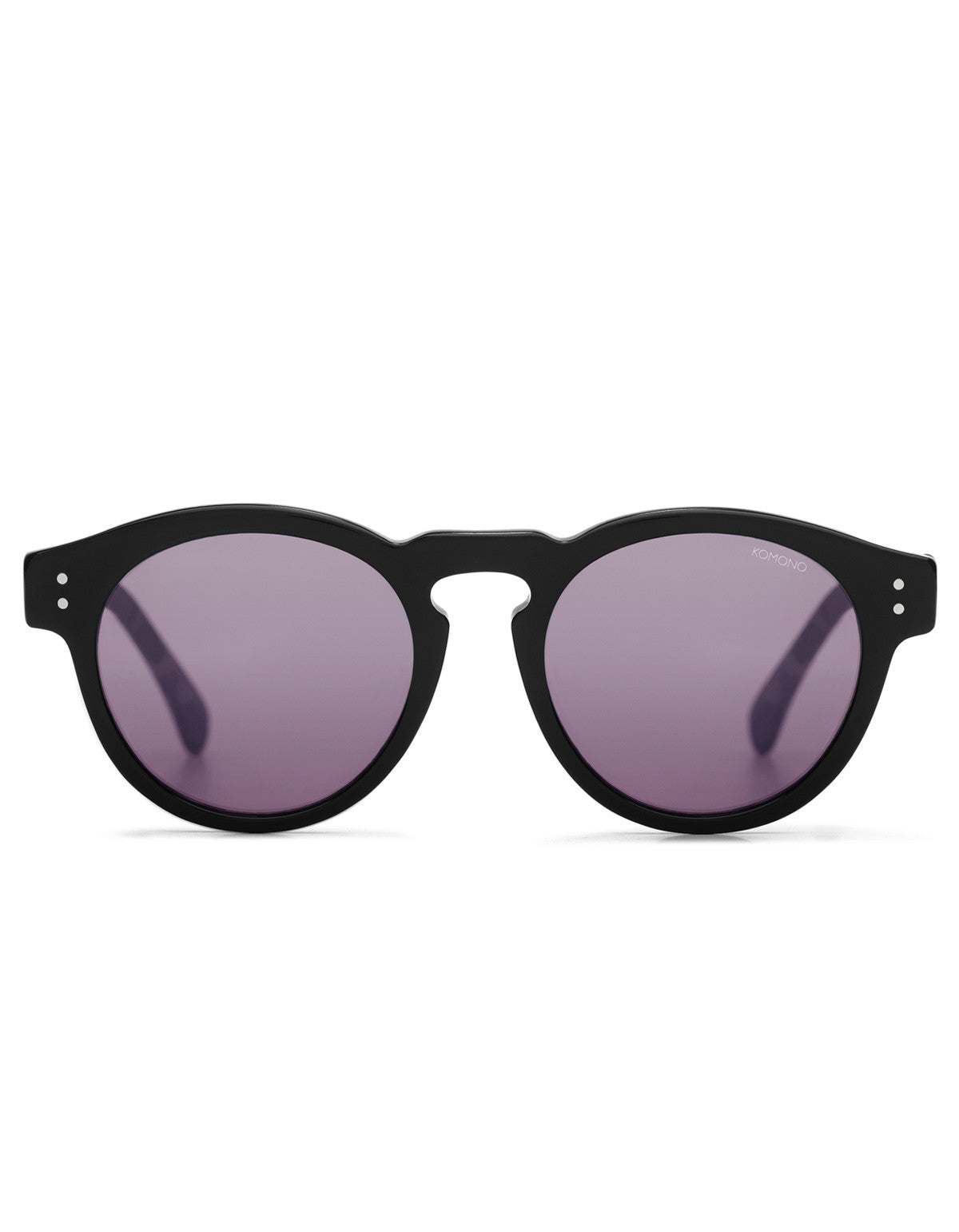 Komono Crafted Clement Italian Acetate Black - Still Life - 1