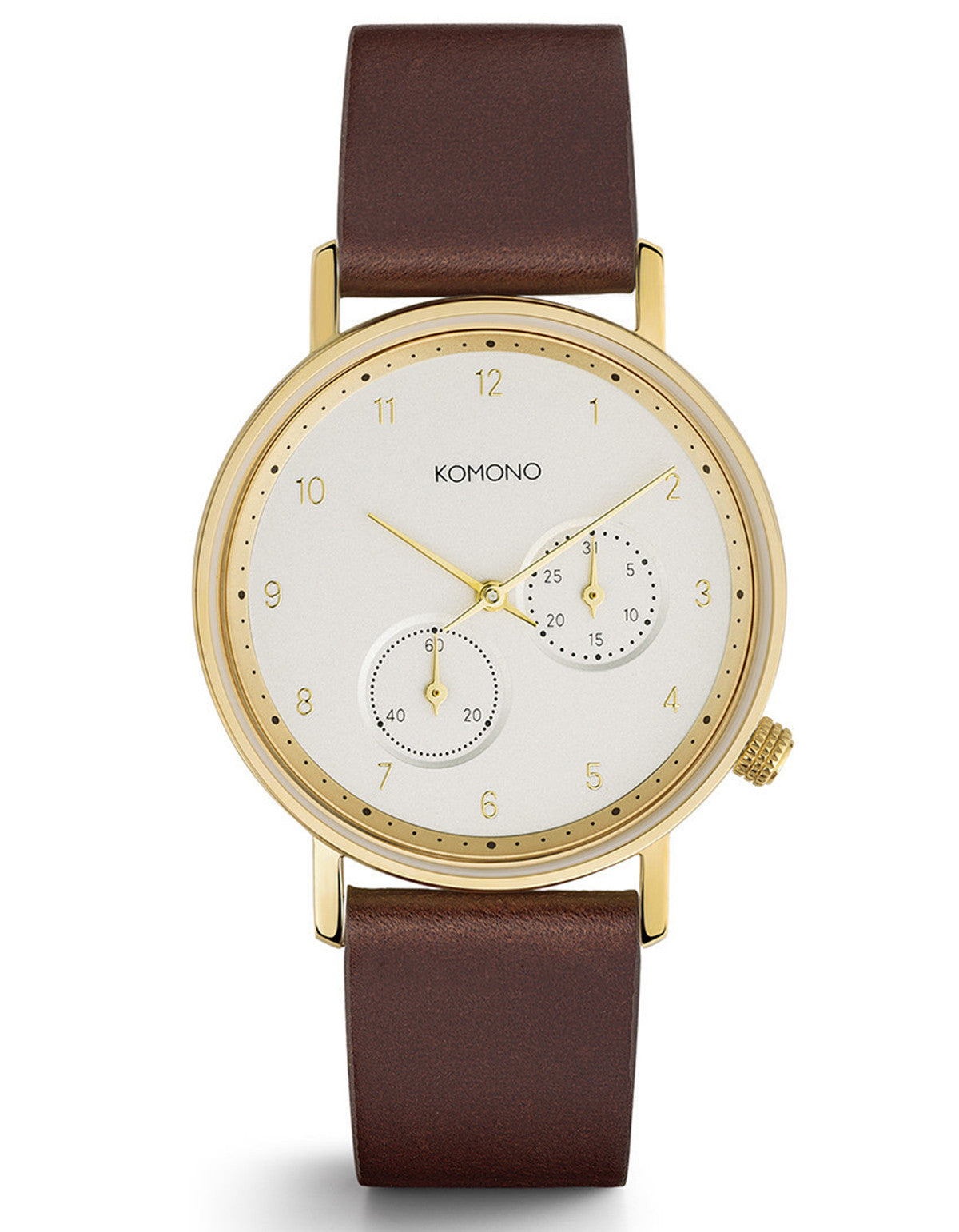 Komono Walther Crafted Watch Tobacco - Still Life - 1