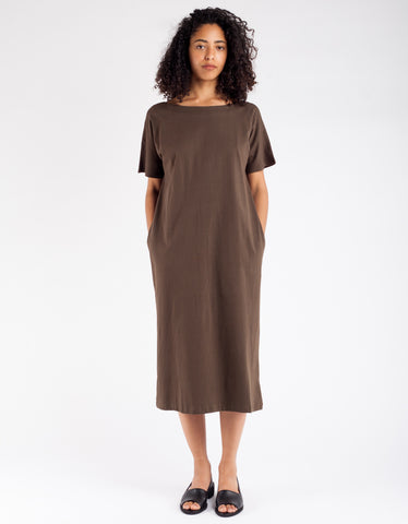 Kowtow Building Block Reversible Dress Moss
