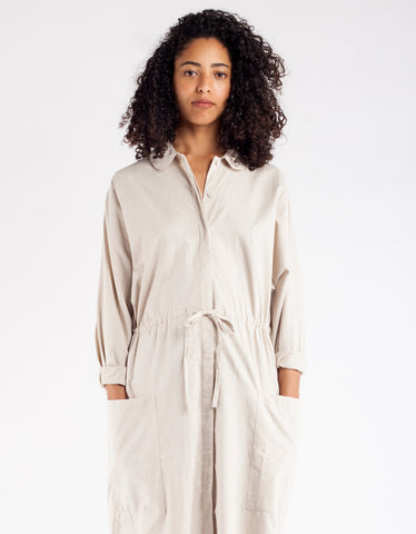 Kowtow Detour Shirt Dress Oatmeal