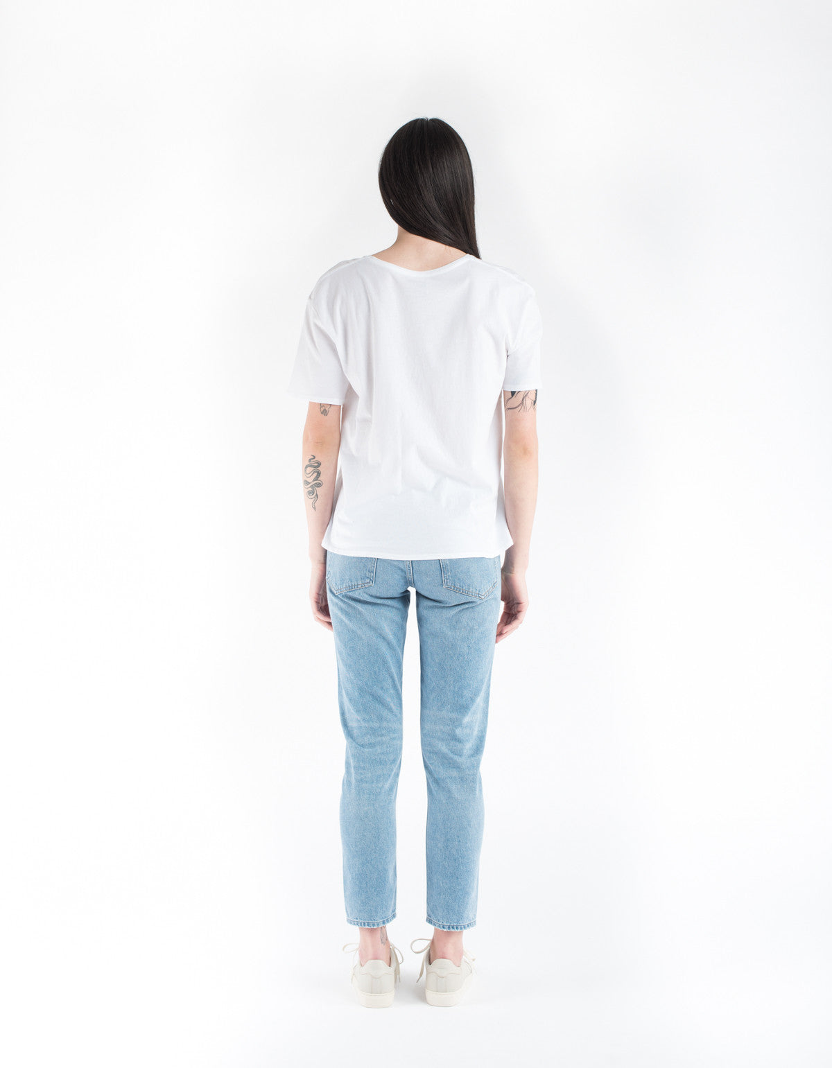 Kowtow Building Block Crew Neck Tee White