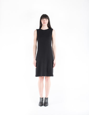 Kowtow Building Block Rib Tank Dress Black