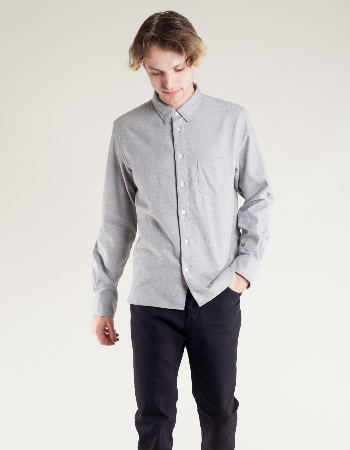La Paz Lopes Shirt Light Grey