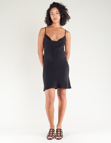 Lacausa Bias Cut Mini Dress Tar