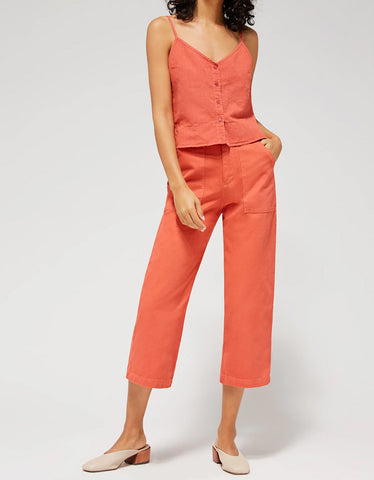 Lacausa Brushed Stella Trousers Rhubarb