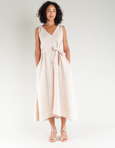 Lacausa Frances Dress Biscuit