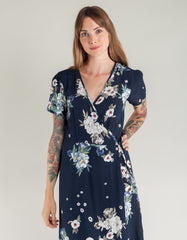 Lacausa Midnight Floral Tallulah Dress Midnight Floral