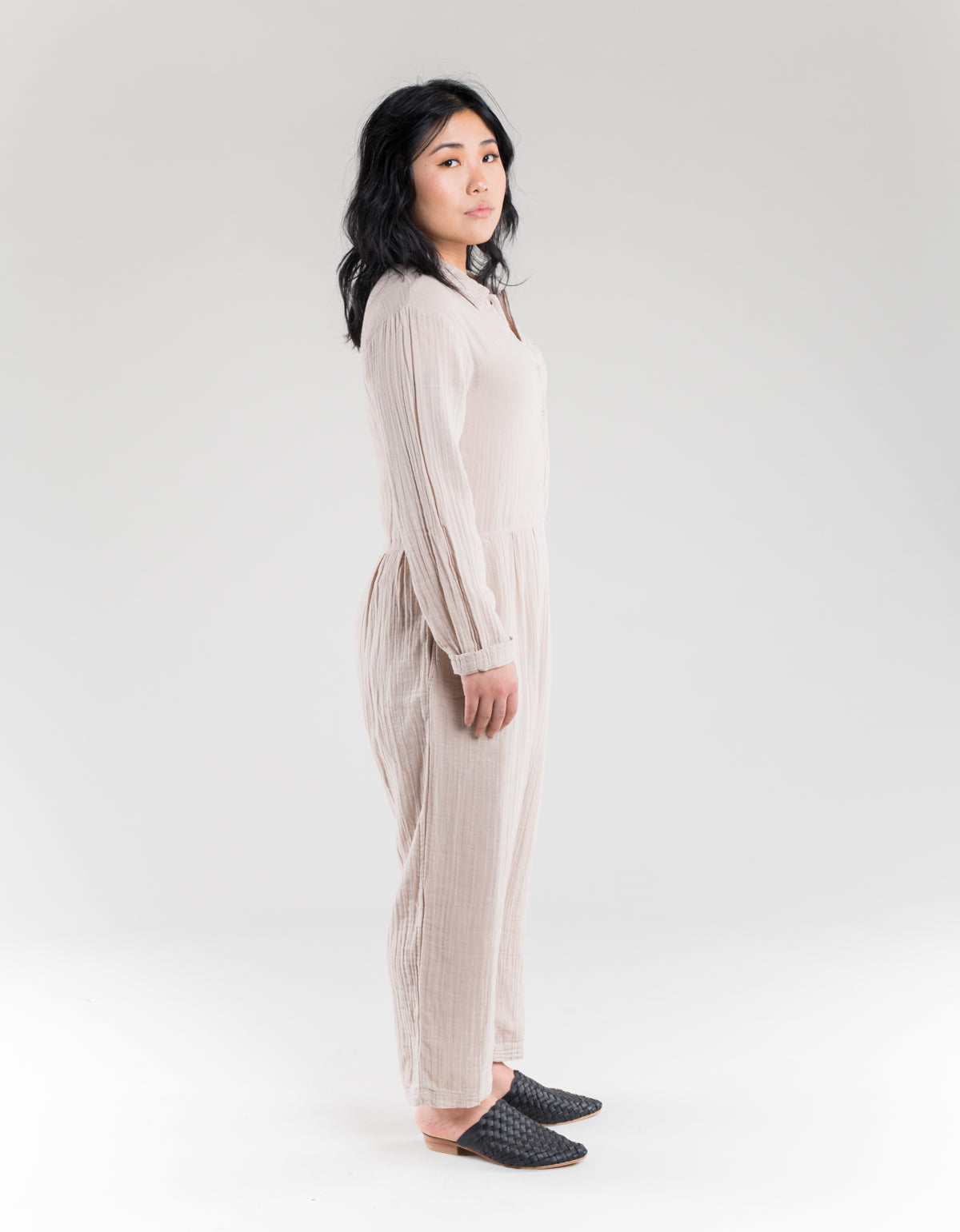 Lacausa Odessa Jumpsuit Oatmeal