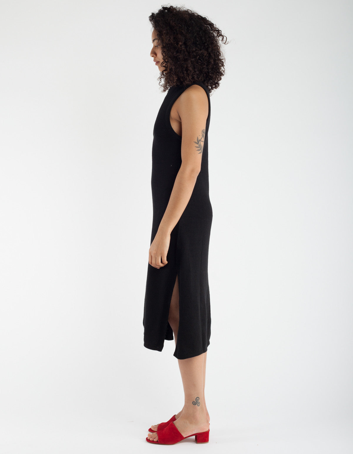 Lacausa Opal Hand Knit Dress Tar