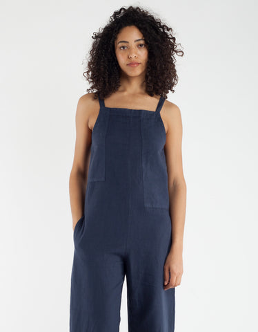 Lacausa Patch Jumpsuit Velvet