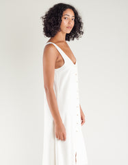 Lacausa Reversible Silk Dress Natural