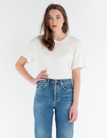 Lacausa Tall Tee Whitewash
