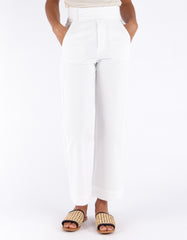 Lacausa Uniform Trouser Whitewash