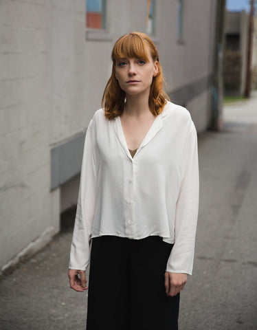 Lacausa Gemma Blouse Panna Cotta