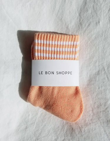 Le Bon Shoppe Girlfriend Socks Grapefruit