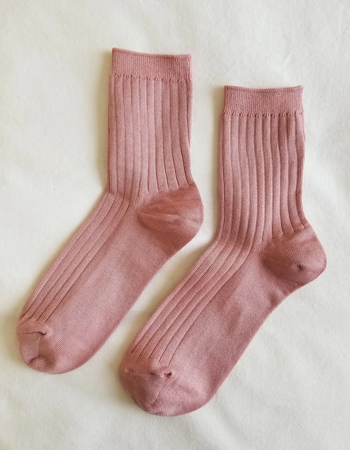 Le Bon Shoppe Her Socks Desert Rose