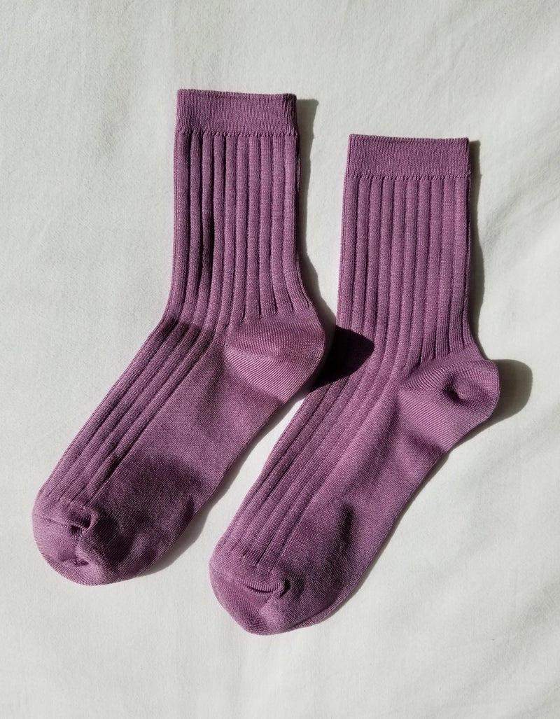 Le Bon Shoppe Her Socks (MC Cotton) Orchid