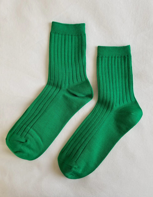 Le Bon Shoppe Her Socks in Kelly Green