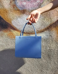 Le Bon Shoppe Petite Shopper Bag French Blue