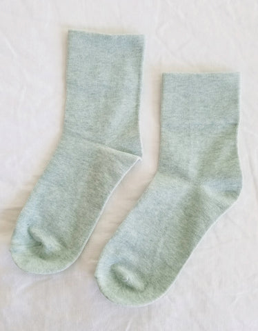 Le Bon Shoppe Sneaker Socks Sea Foam