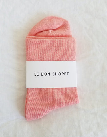 Le Bon Shoppe Sneaker Socks, Peach