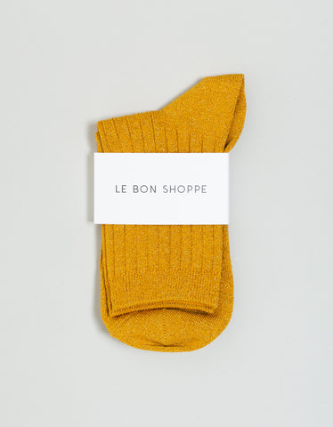 Le Bon Shoppe Lurex Socks Honey Glitter