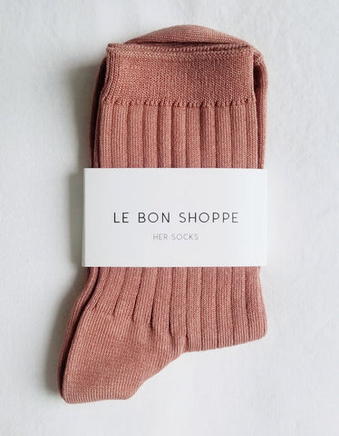 Le Bon Shoppe Her Socks Nude Peach