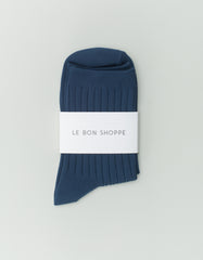 Le Bon Shoppe Solid Socks Peacock