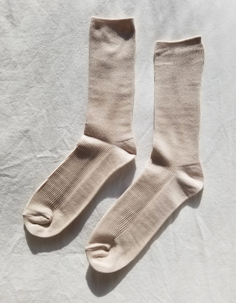 Le Bon Shoppe Trouser Sock Eggnog