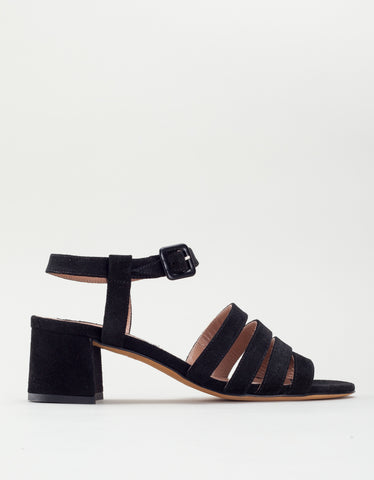 Maryam Nassir Zadeh Palma Low Black Suede